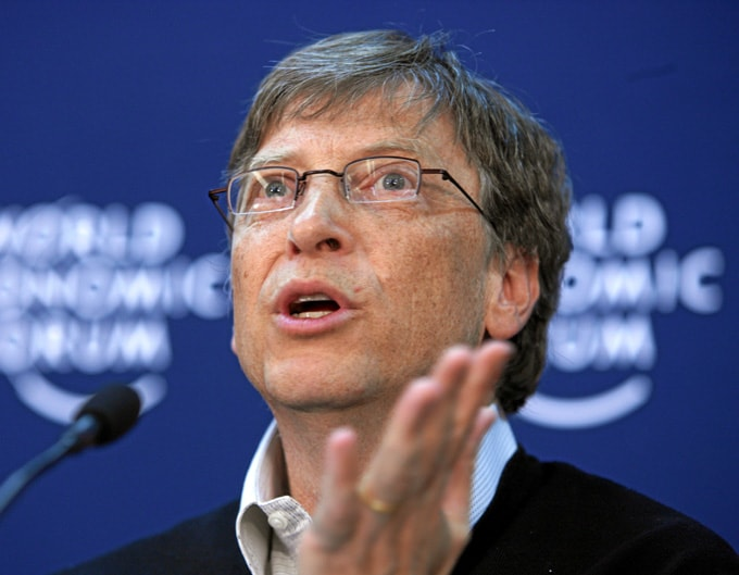 Bill Gates World Economic Forum Annual Meeting 2008