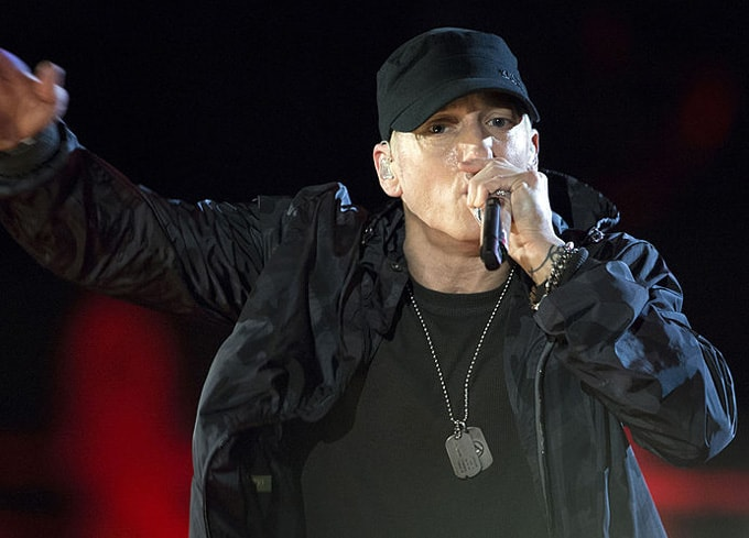 Eminem Concert For Valor Washington 2014