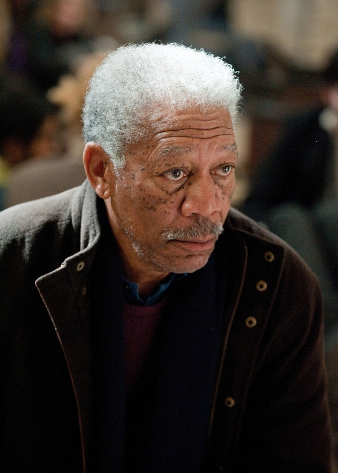 Morgan Freeman The Dark Knight Rises